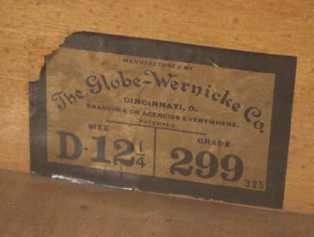 Early 20th Century GLOBE-WERNICKE CO BARRISTER BOOKCASE - 8