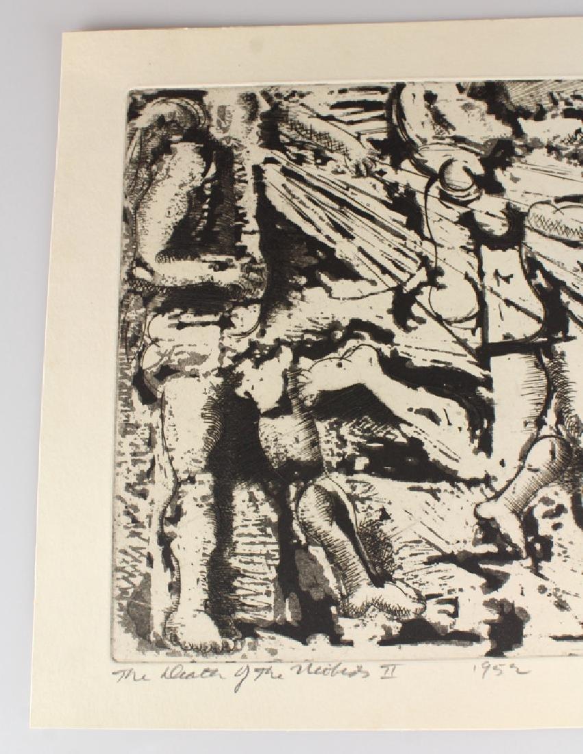 Artist Signed SALVATORE GRIPPI INTAGLIO ETCHING 1952 - 2