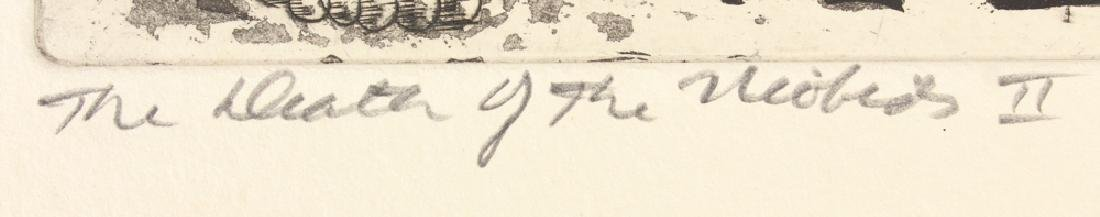 Artist Signed SALVATORE GRIPPI INTAGLIO ETCHING 1952 - 4
