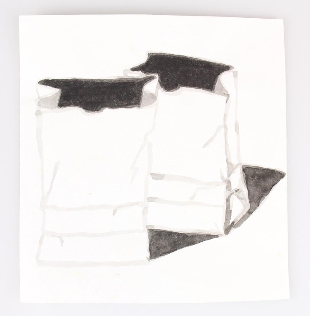 7pcs Landscape Portrait SALVATORE GRIPPI INK STUDIES - 4