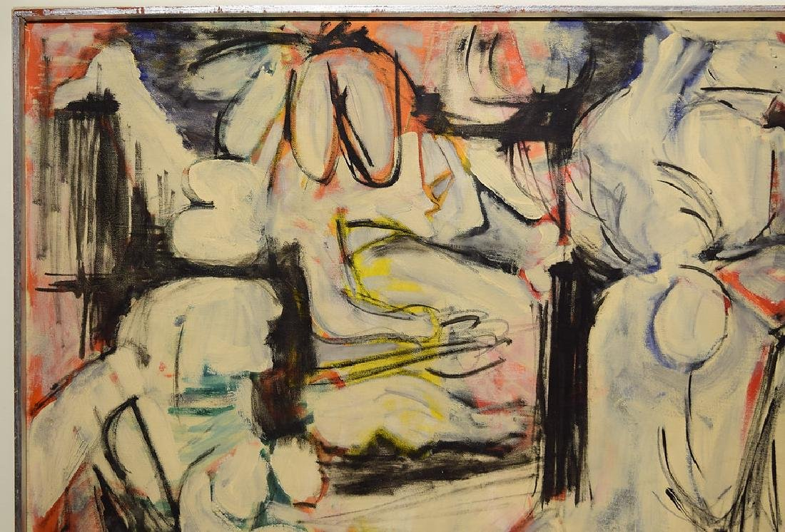 Abstract Expressionist Painting SALVATORE GRIPPI Artist - 3