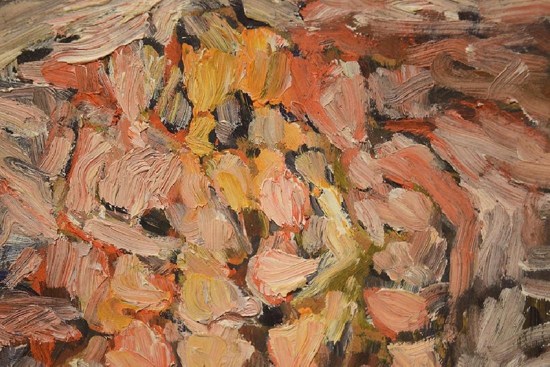Artist Signed SALVATORE GRIPPI OIL ON BOARD 1961 - 2