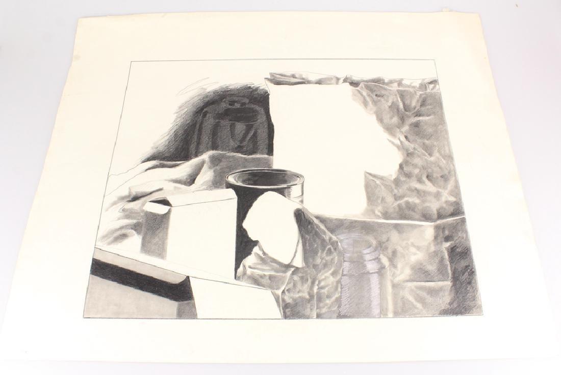Pencil Still-Life SALVATORE GRIPPI DRAWING 1979 Artist