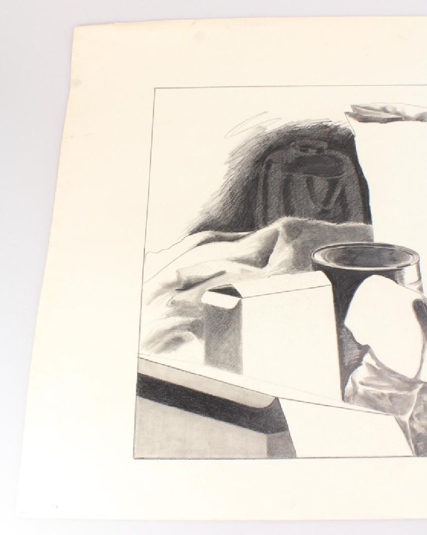 Pencil Still-Life SALVATORE GRIPPI DRAWING 1979 Artist - 2