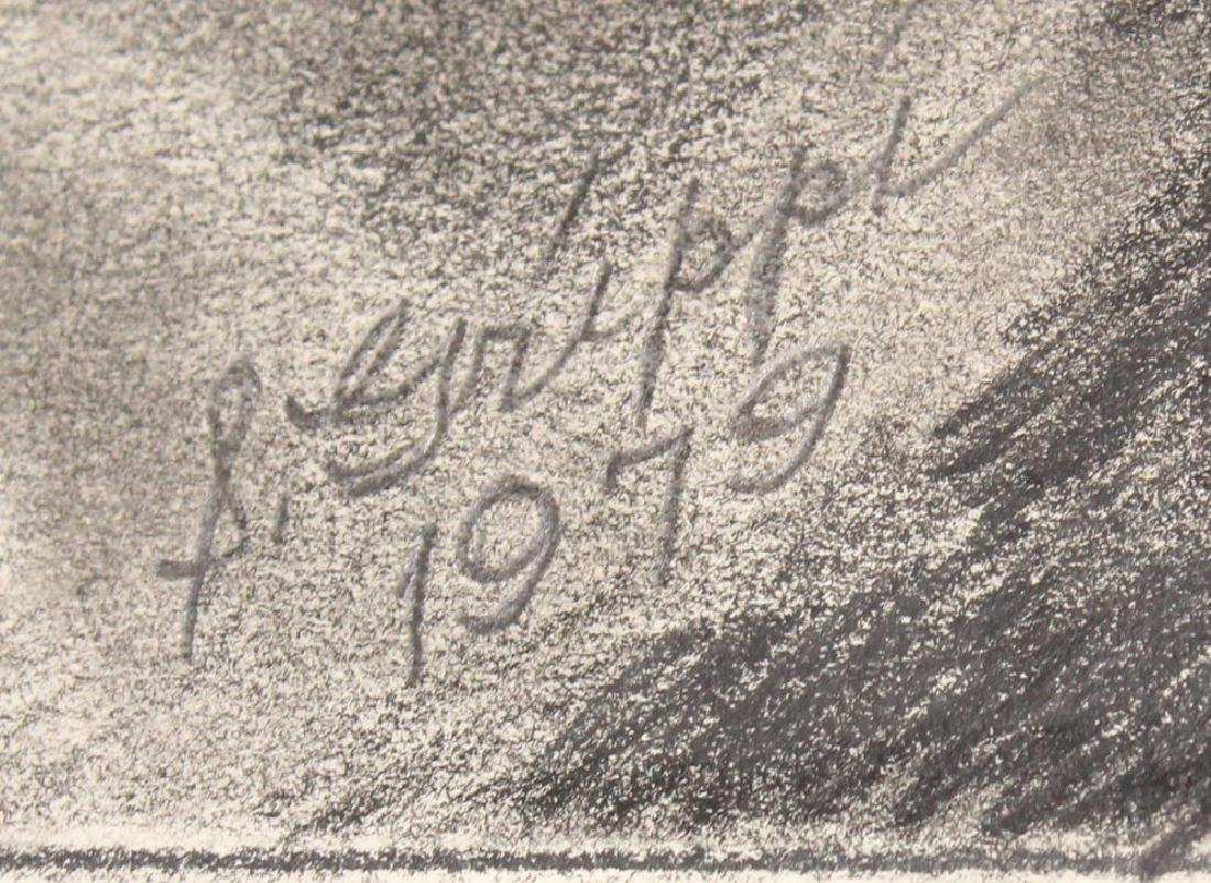 Pencil Still-Life SALVATORE GRIPPI DRAWING 1979 Artist - 4