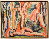 Figurative Abstract Expressionist EARLY SALVATORE