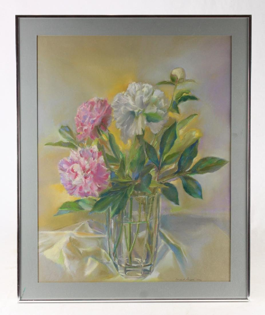 Artist Signed Drawing ROSALIND GRIPPI 1992 Still-Life
