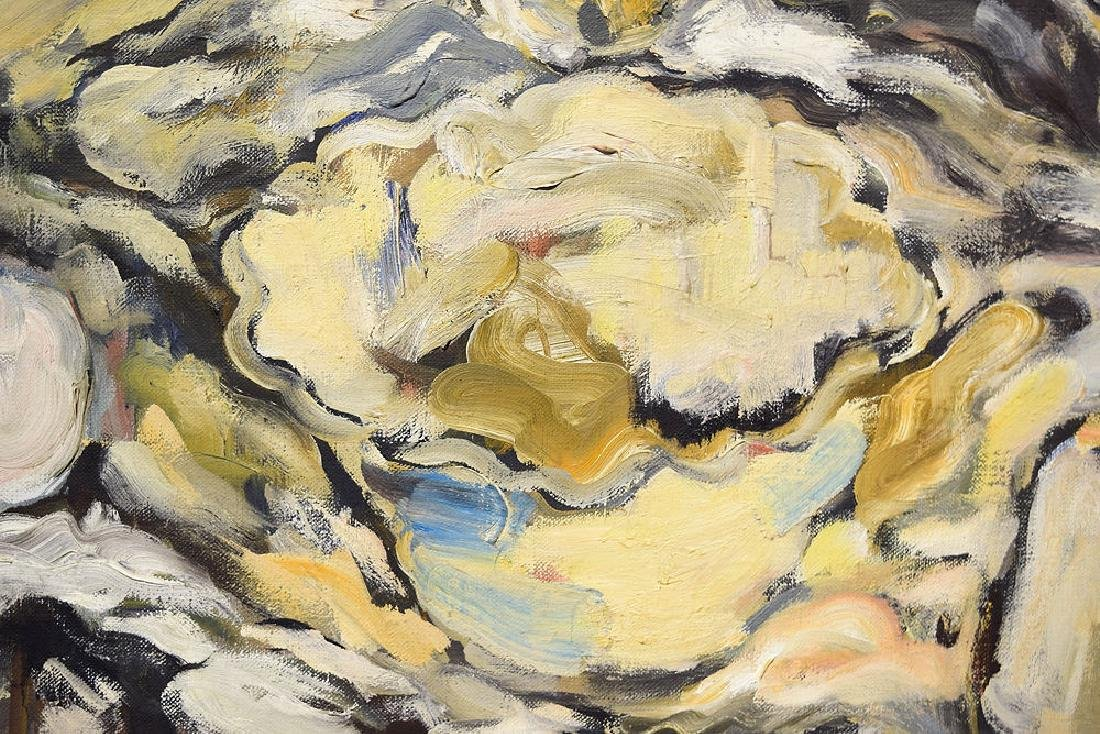 Oil Or Acrylic SALVATORE GRIPPI OIL ON CANVAS 1963 - 2