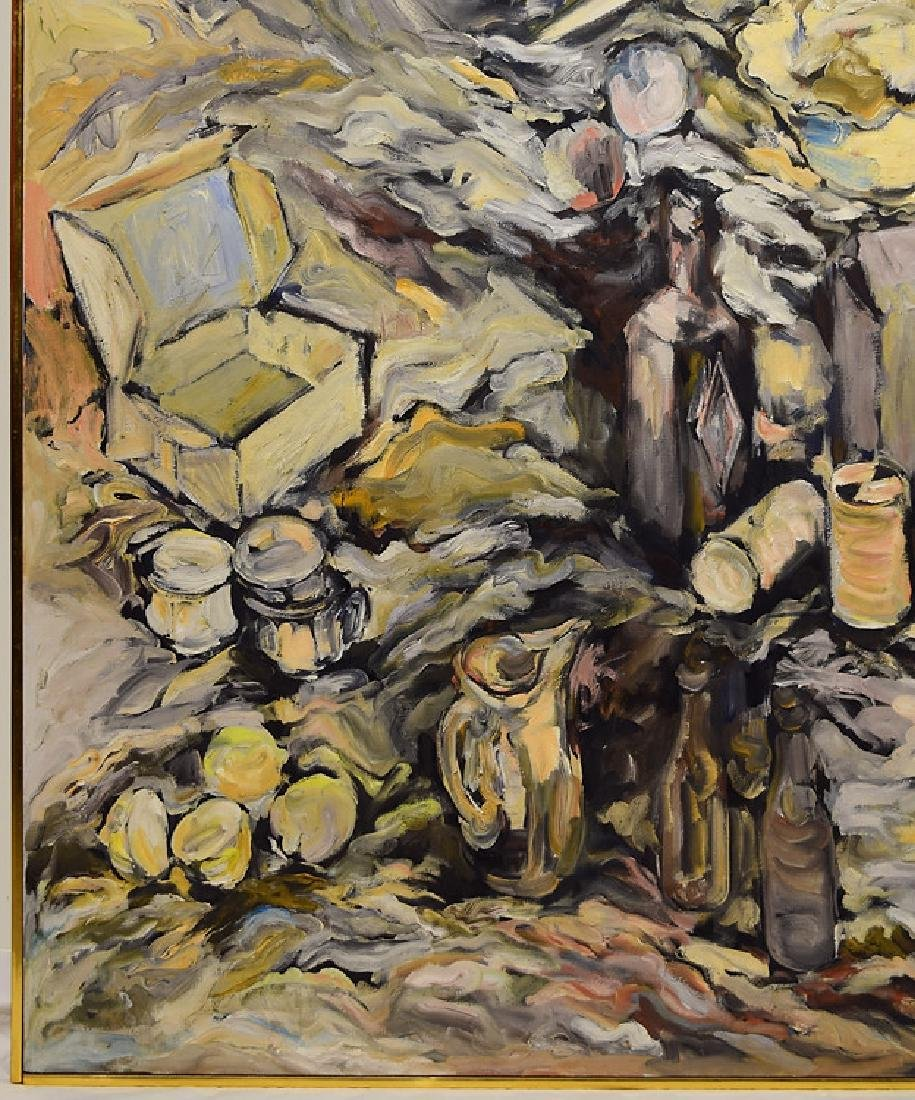 Oil Or Acrylic SALVATORE GRIPPI OIL ON CANVAS 1963 - 5
