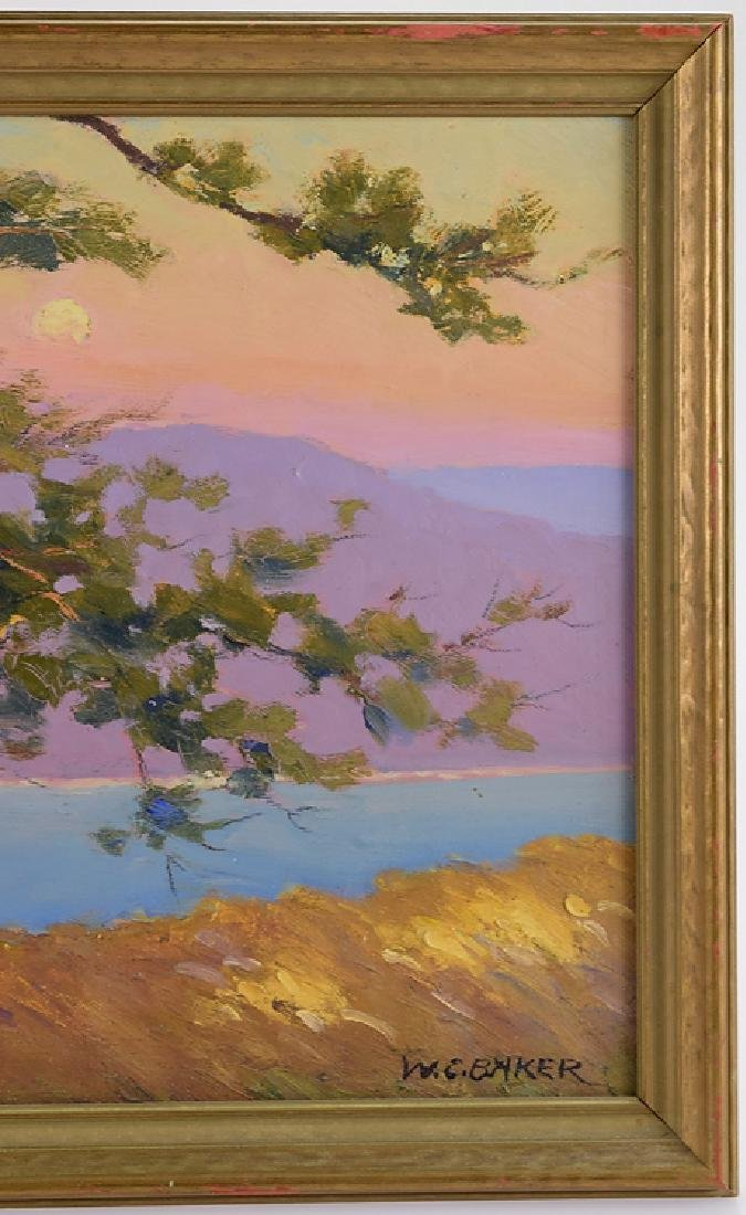 Ithaca Area Artist WILLIAM CHARLES BAKER Antique Artist - 5