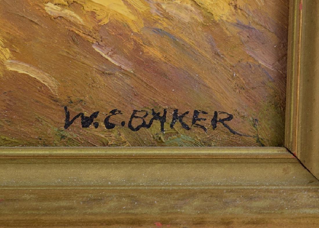 Ithaca Area Artist WILLIAM CHARLES BAKER Antique Artist - 6