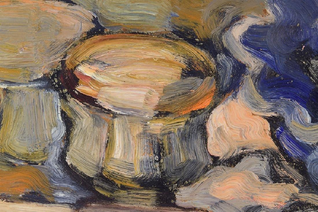 Still-Life Painting SALVATORE GRIPPI OIL ON BOARD 1962 - 2