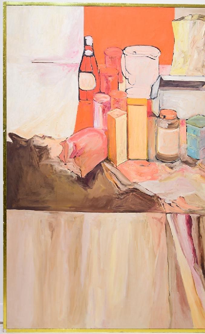 Still-Life SALVATORE GRIPPI OIL ON CANVAS Artist Signed - 3