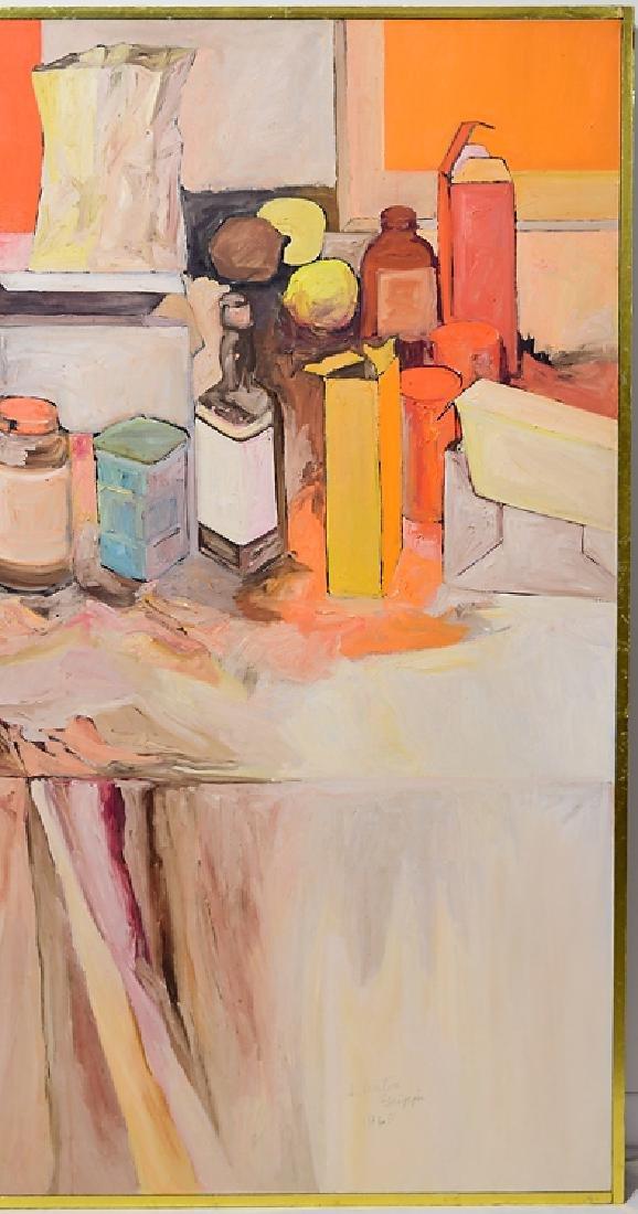 Still-Life SALVATORE GRIPPI OIL ON CANVAS Artist Signed - 4