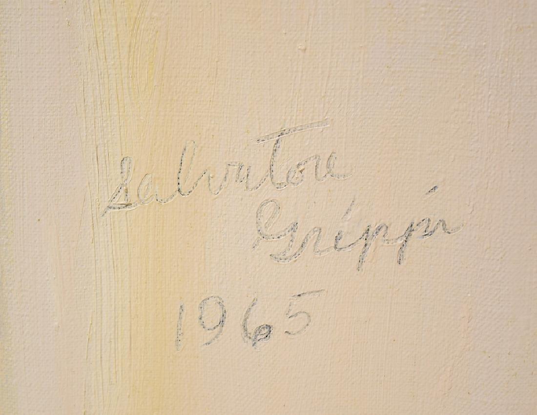 Still-Life SALVATORE GRIPPI OIL ON CANVAS Artist Signed - 5