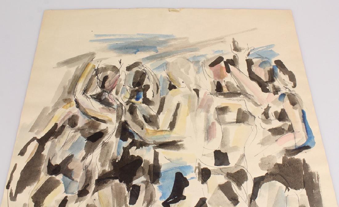 Watercolor Painting SALVATORE GRIPPI FIGURATIVE - 2
