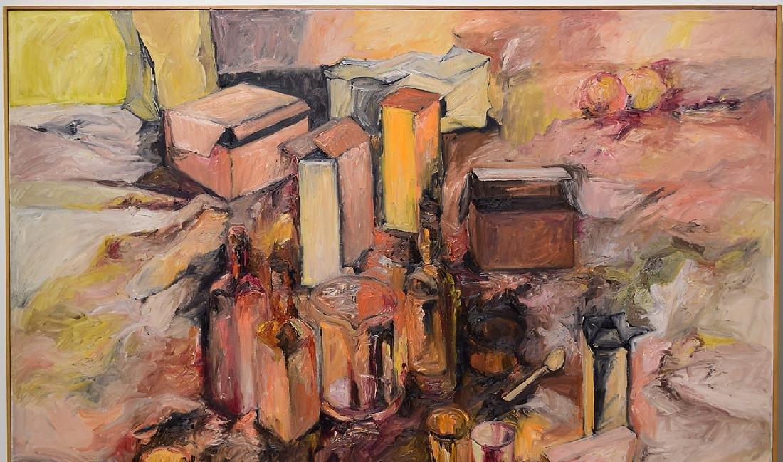 Artist Signed SALVATORE GRIPPI OIL ON CANVAS 1964 - 3