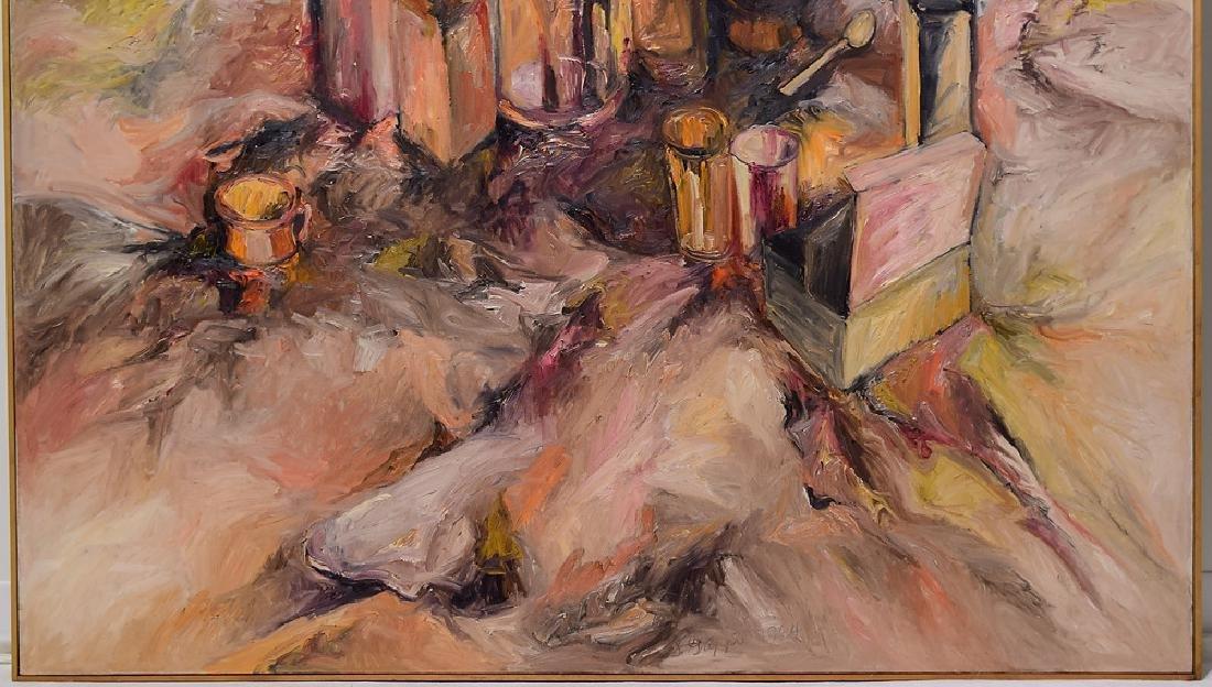 Artist Signed SALVATORE GRIPPI OIL ON CANVAS 1964 - 4