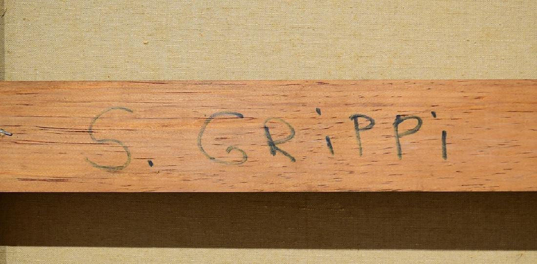 Artist Signed SALVATORE GRIPPI OIL ON CANVAS 1964 - 6