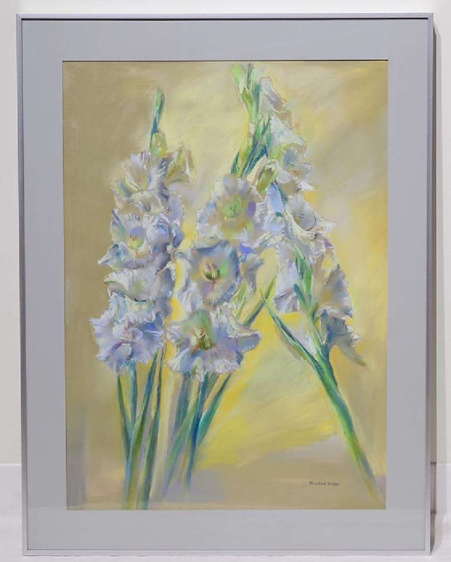 2pcs Pastel Still-Life ROSALIND GRIPPI DRAWINGS Framed - 2