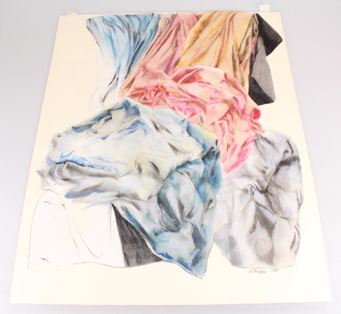 Expressionist Colored Pencil SALVATORE GRIPPI