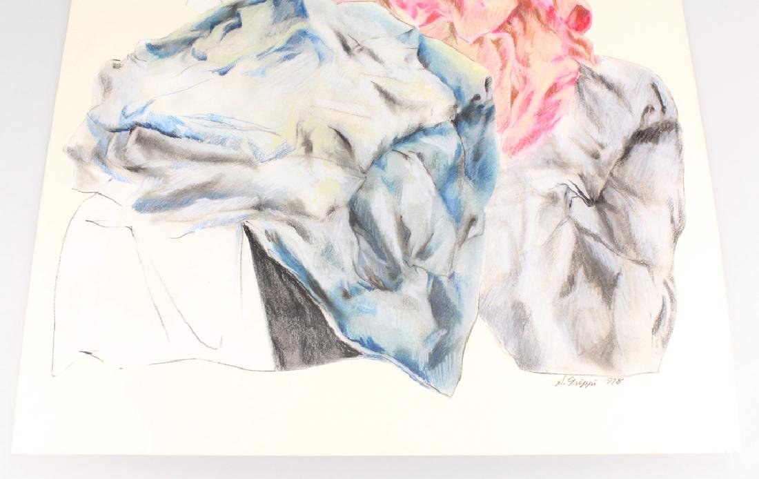 Expressionist Colored Pencil SALVATORE GRIPPI - 3