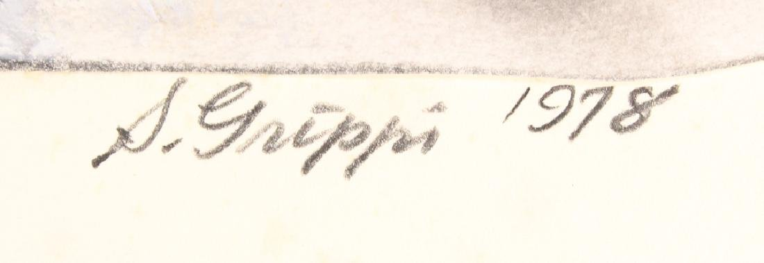 Expressionist Colored Pencil SALVATORE GRIPPI - 4