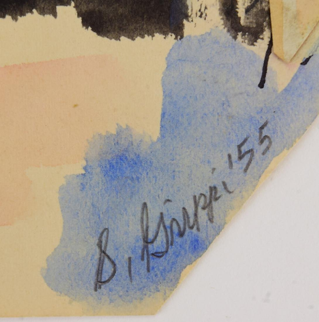Original Watercolor Painting EARLY SALVATORE GRIPPI - 7