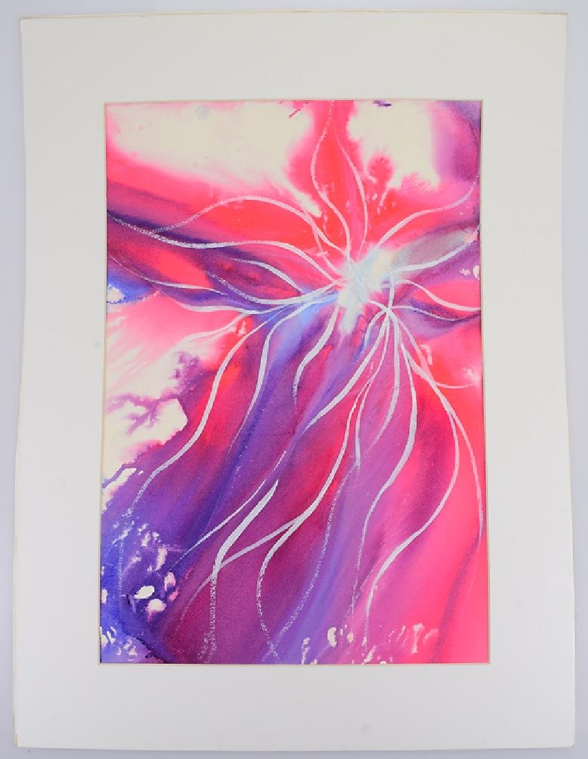 Abstract Watercolor Painting ORIGINAL PEGGY GEERS