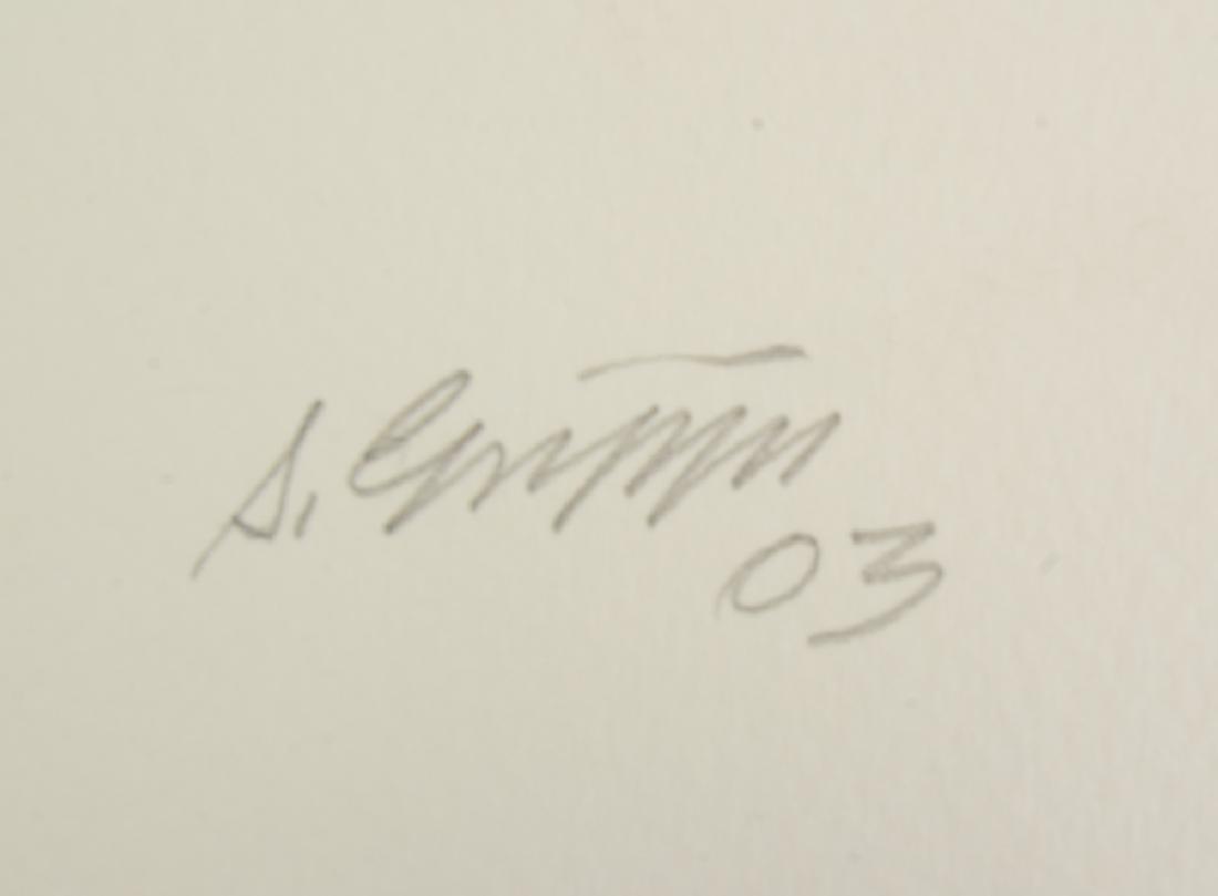 3Pcs Expressionism SIGNED SALVATOR GRIPPI WORKS ON - 4