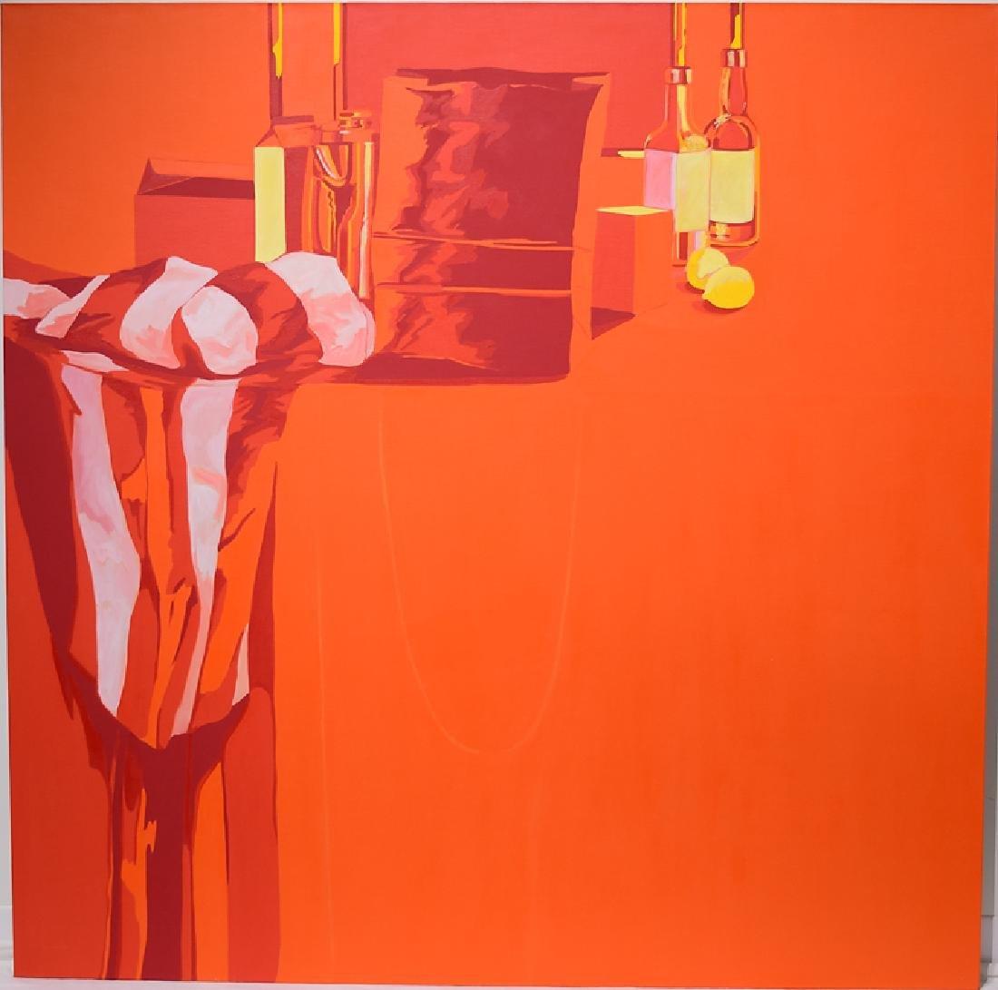 Oil On Canvas SALVATORE GRIPPI POP-EXPRESSIONIST