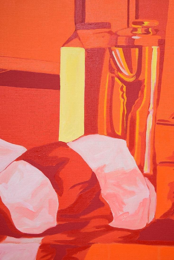 Oil On Canvas SALVATORE GRIPPI POP-EXPRESSIONIST - 2