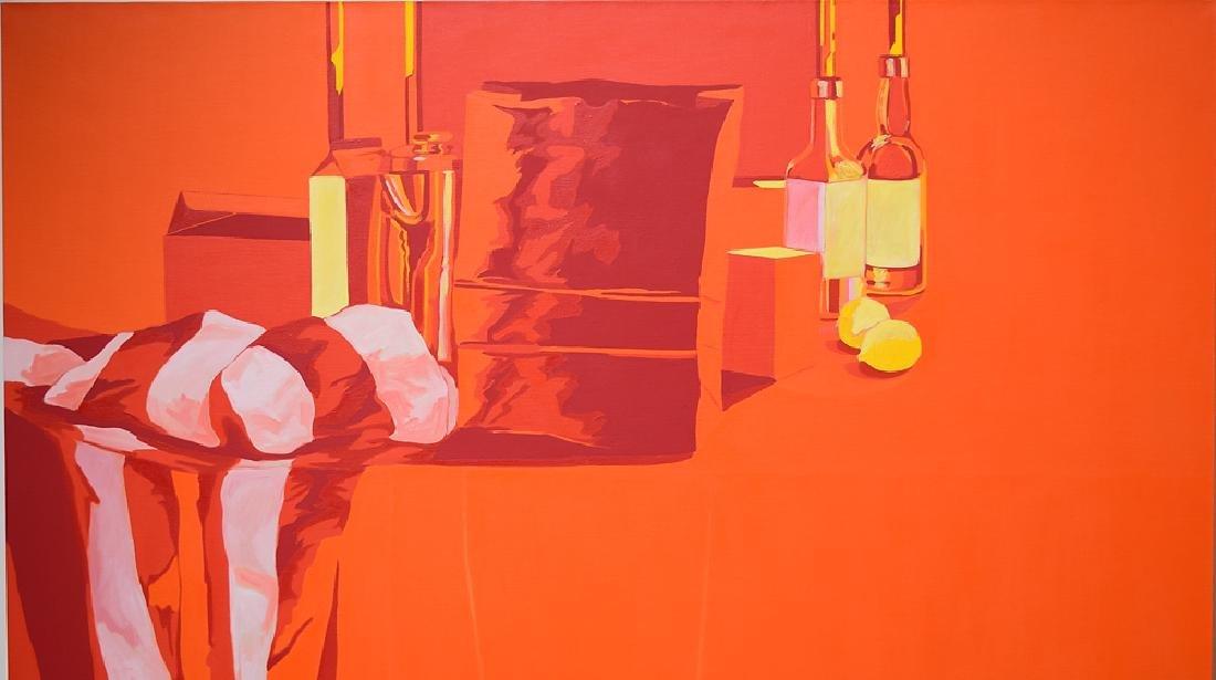 Oil On Canvas SALVATORE GRIPPI POP-EXPRESSIONIST - 3