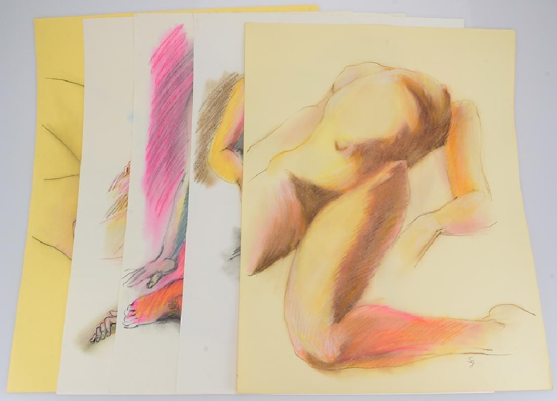 5pcs Colored Pencil Pastel ORIGINAL SALVATORE GRIPPI