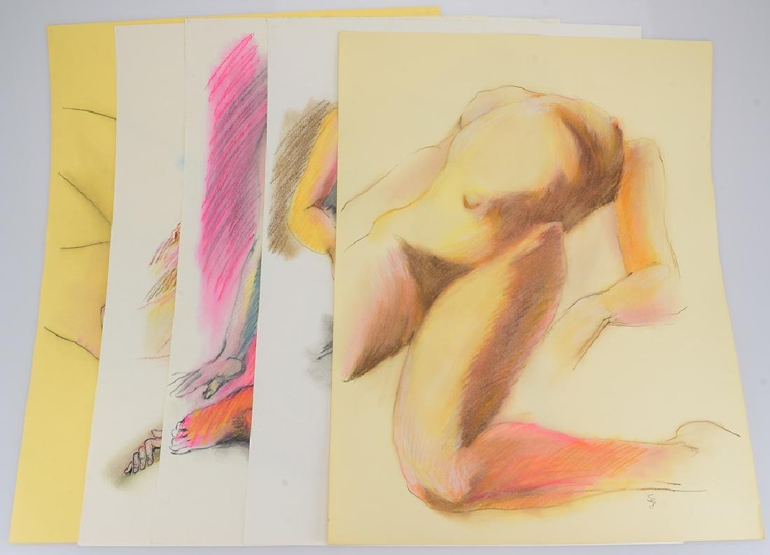 5pcs Colored Pencil Pastel ORIGINAL SALVATORE GRIPPI