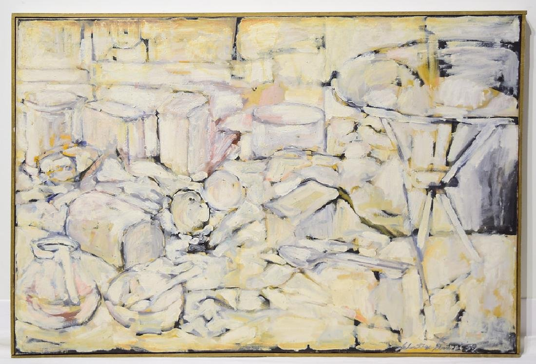 Abstract Expressionist Painting EARLY SALVATORE GRIPPI