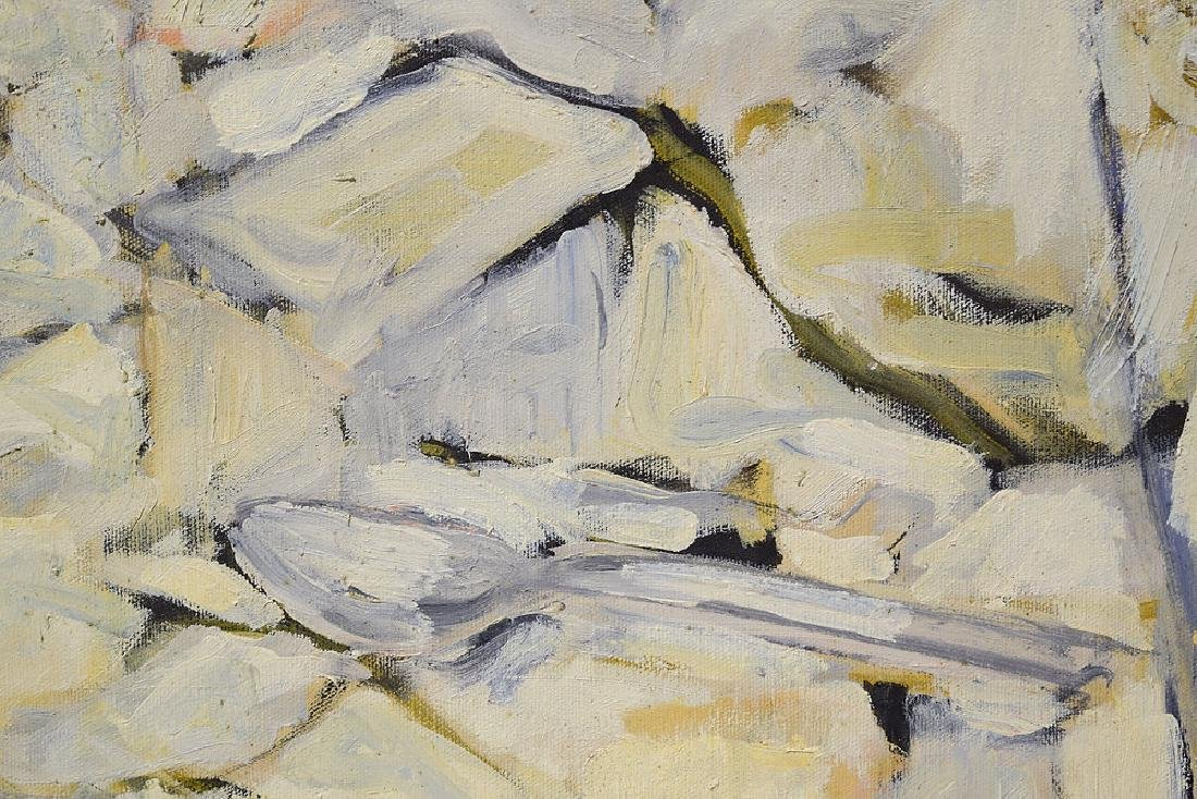 Abstract Expressionist Painting EARLY SALVATORE GRIPPI - 2