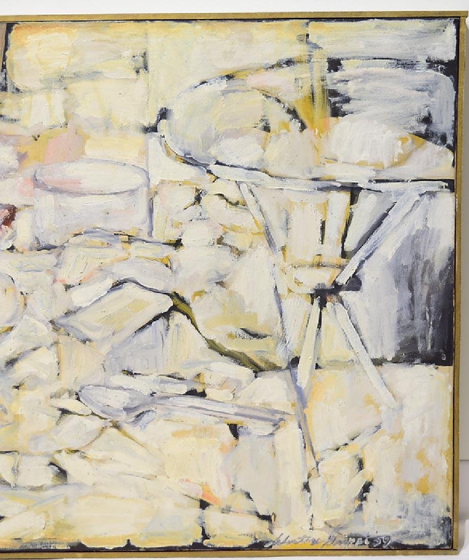 Abstract Expressionist Painting EARLY SALVATORE GRIPPI - 4