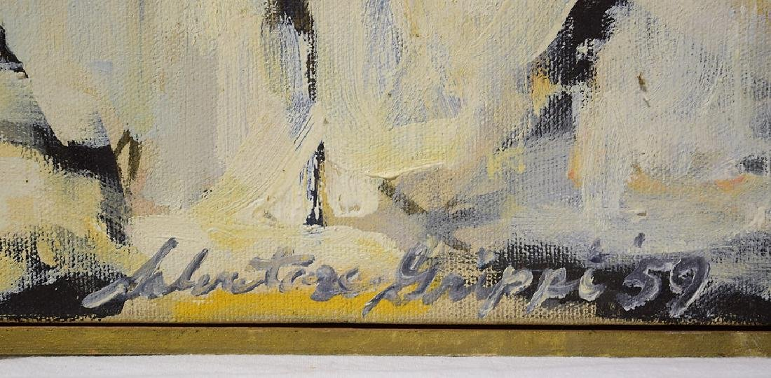 Abstract Expressionist Painting EARLY SALVATORE GRIPPI - 5