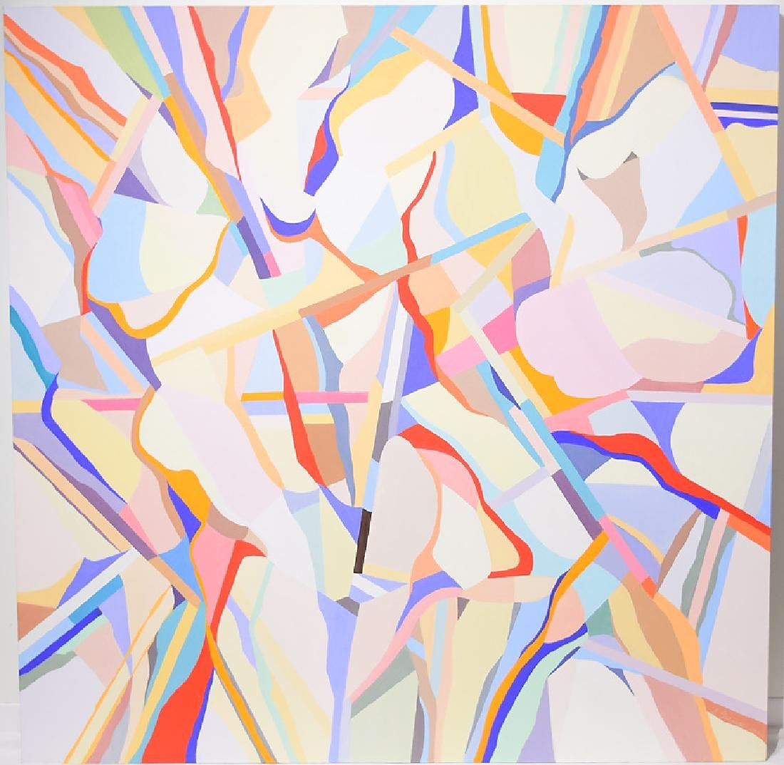 Figurative Geometric Abstract ORIGINAL SALVATORE GRIPPI