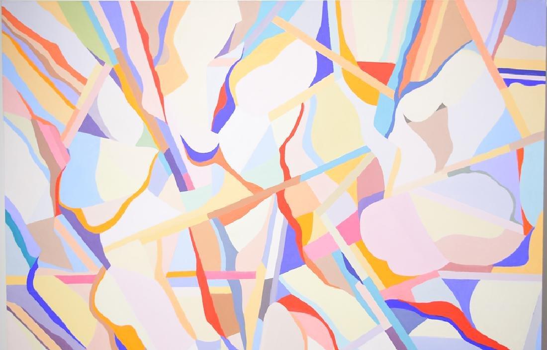 Figurative Geometric Abstract ORIGINAL SALVATORE GRIPPI - 3