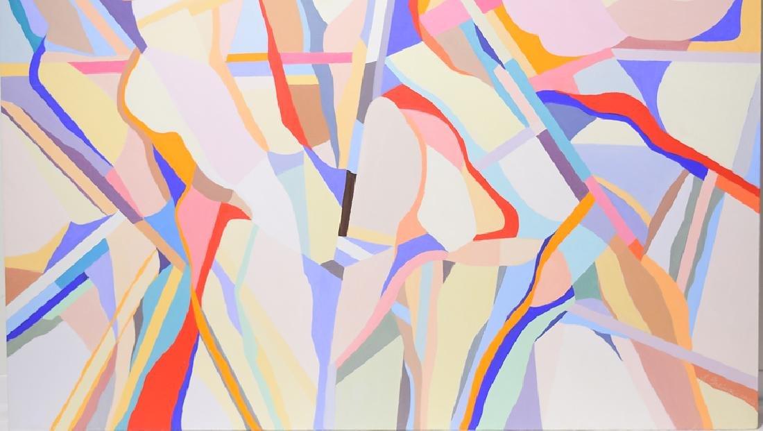 Figurative Geometric Abstract ORIGINAL SALVATORE GRIPPI - 4