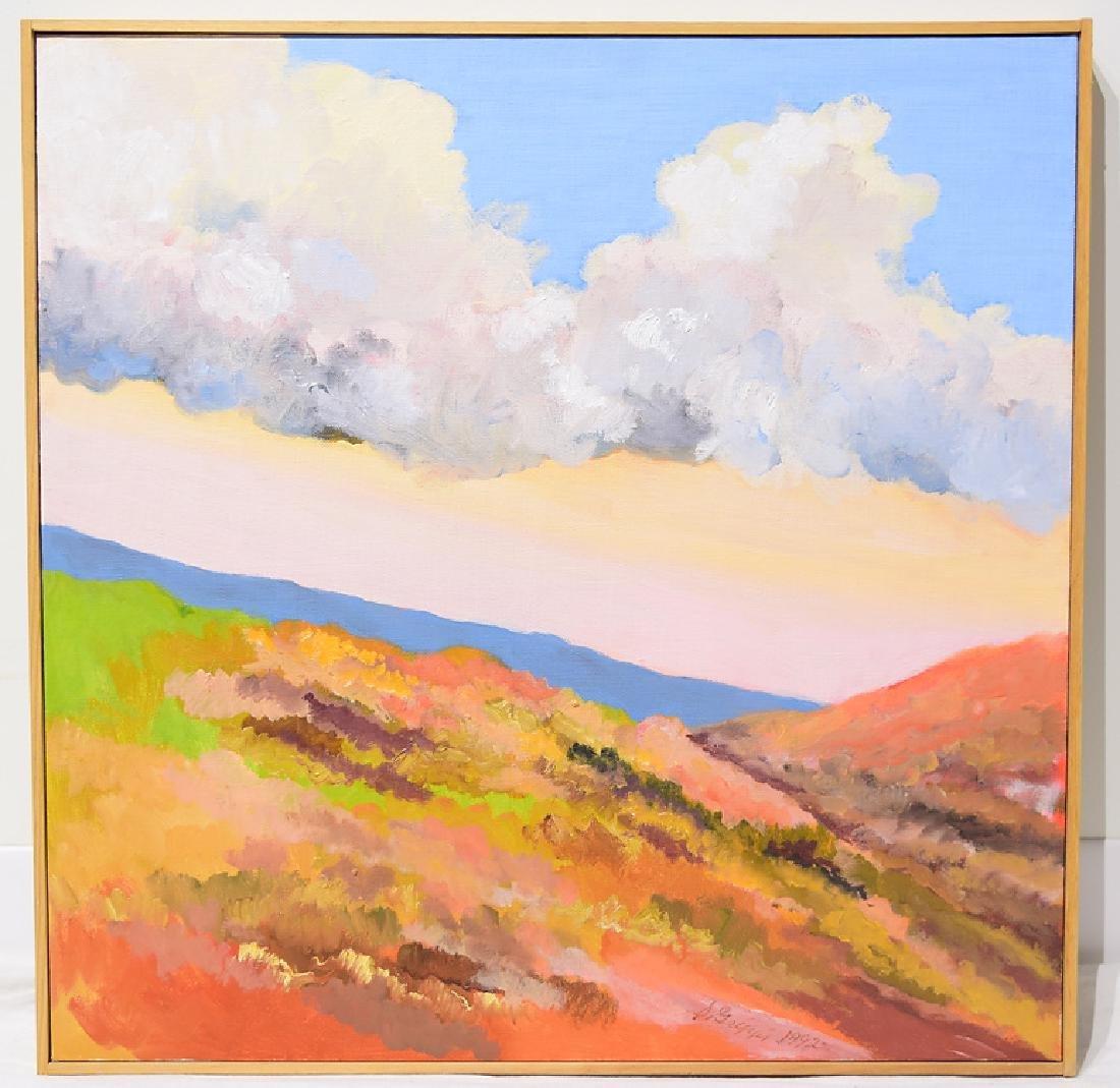 Landscape Oil Painting SALVATORE GRIPPI CANVAS 1992