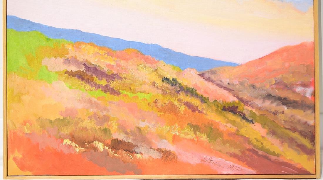 Landscape Oil Painting SALVATORE GRIPPI CANVAS 1992 - 4