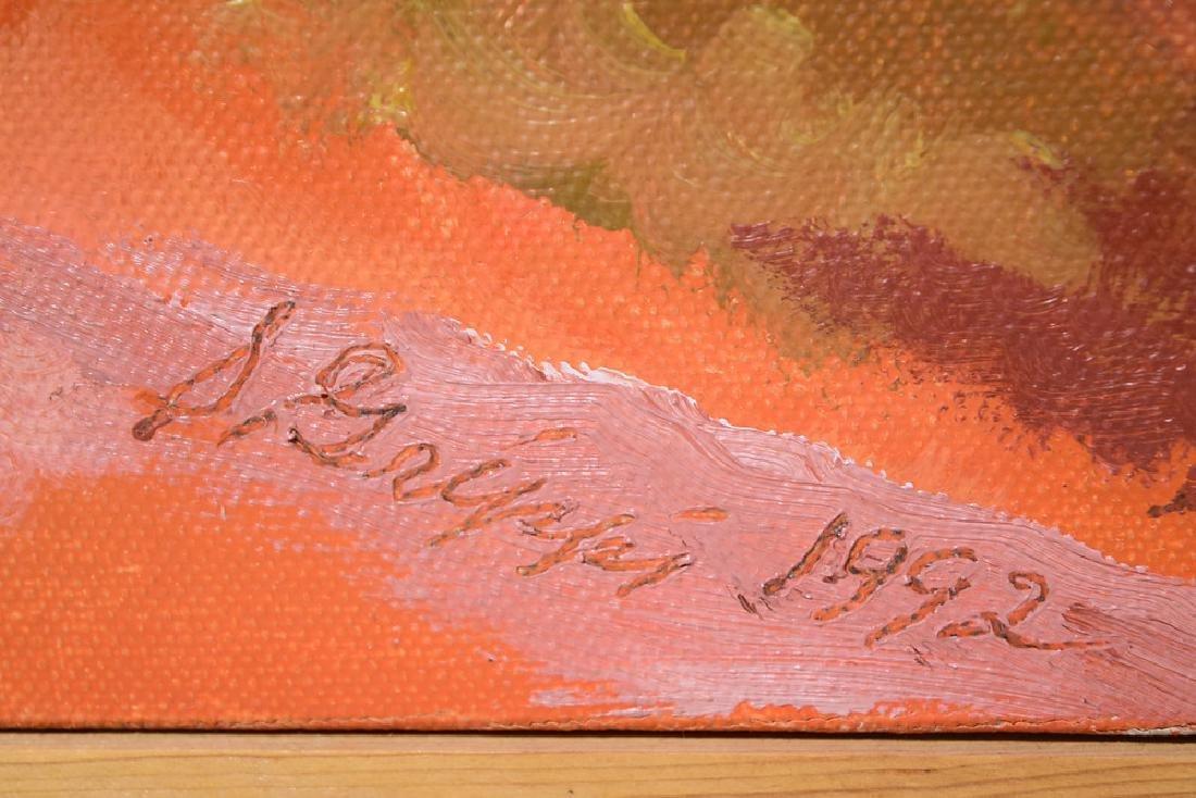 Landscape Oil Painting SALVATORE GRIPPI CANVAS 1992 - 5