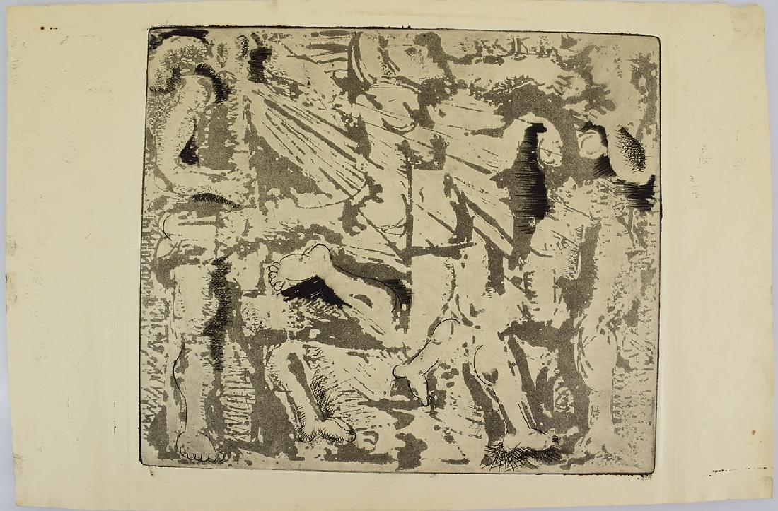 5pcs Prints Artist's Proofs EARLY SALVATORE GRIPPI - 4
