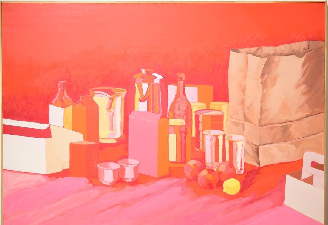 Oil On Canvas ORIGINAL SALVATORE GRIPPI - 3