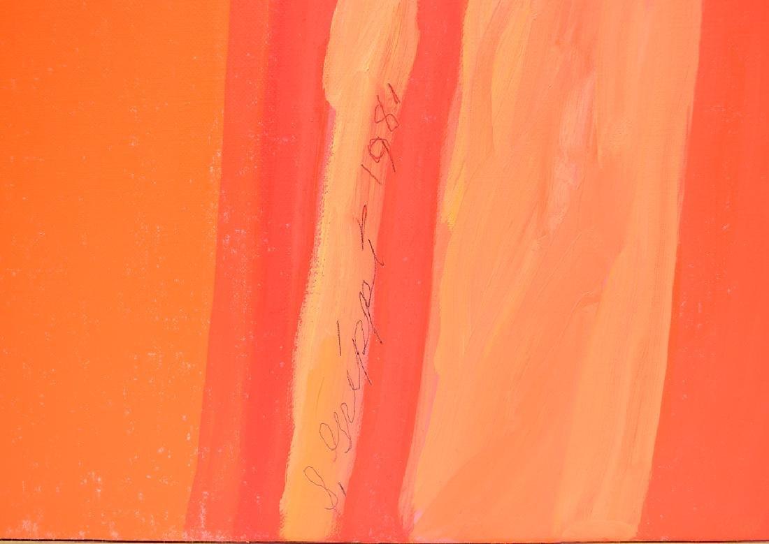 Oil On Canvas ORIGINAL SALVATORE GRIPPI - 5