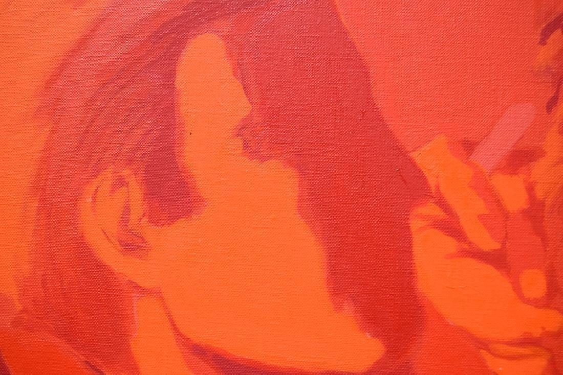 Pop-Expressionist Portrait ORIGINAL SALVATORE GRIPPI - 2