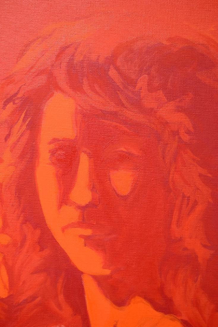 Pop-Expressionist Portrait ORIGINAL SALVATORE GRIPPI - 3